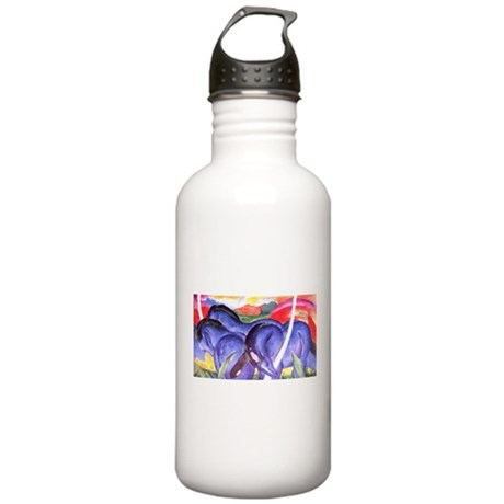 Blue Horses Stainless Water Bottle 1.0L