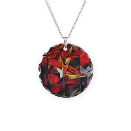 The Fox by Franz Marc Necklace Circle Charm