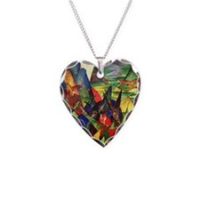 Foxes by Franz Marc Necklace