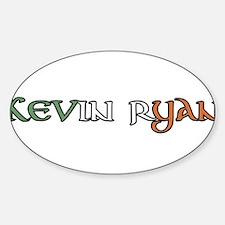 Cute Seamus Sticker (Oval)