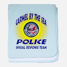 Carmel Police SRT baby blanket