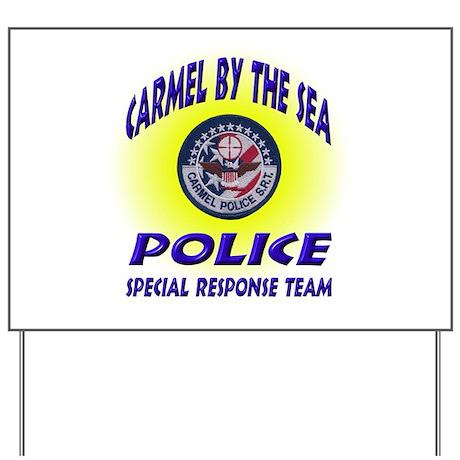 Carmel Police SRT Yard Sign