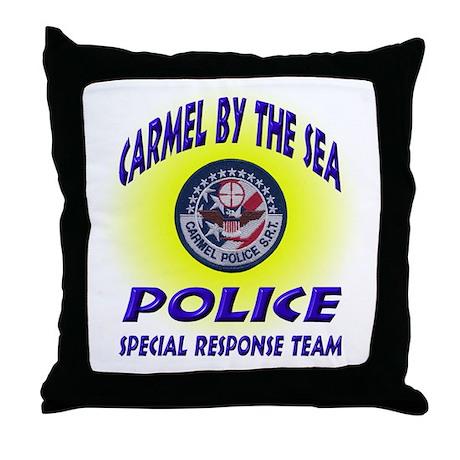 Carmel Police SRT Throw Pillow