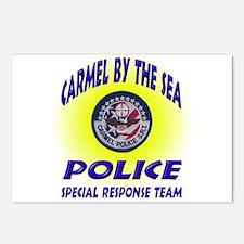 Carmel Police SRT Postcards (Package of 8)