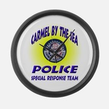 Carmel Police SRT Large Wall Clock