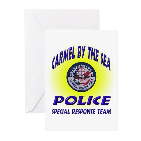 Carmel Police SRT Greeting Cards (Pk of 20)