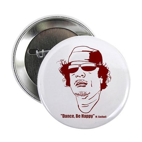 """Moammar Gadhafi 2.25"""" Button (10 pack)"""
