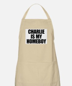 Charlie Is My Homeboy Apron
