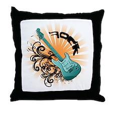 Rock It - Sunburst Throw Pillow
