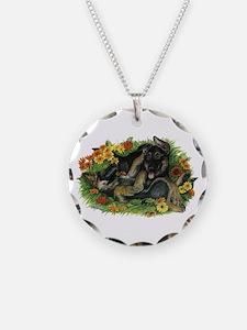 Puppy Garden Necklace