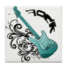 Rock It - Turquoise Tile Coaster