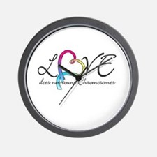Love doesn't count Chromosome Wall Clock