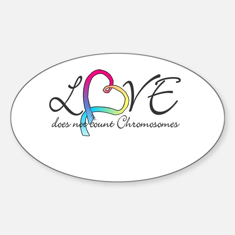 Love doesn't count Chromosome Decal