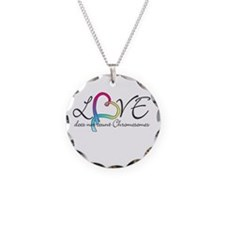 Love doesn't count Chromosome Necklace