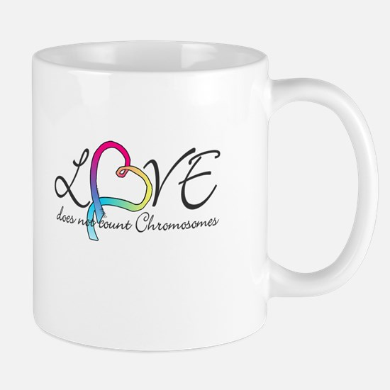 Love doesn't count Chromosome Mug