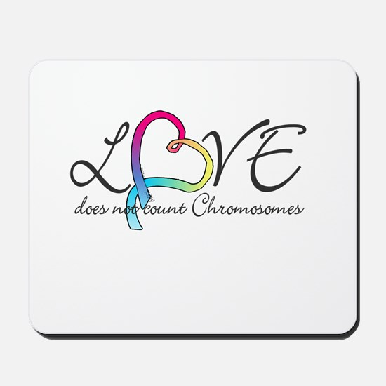 Love doesn't count Chromosome Mousepad