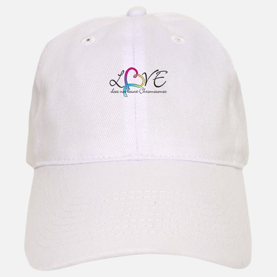 Love doesn't count Chromosome Baseball Baseball Cap