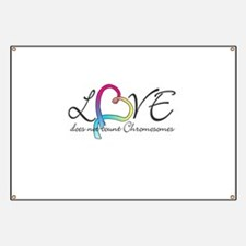 Love doesn't count Chromosome Banner