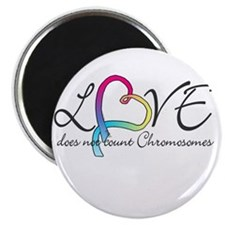 "Love doesn't count Chromosome 2.25"" Magnet (100 pa"
