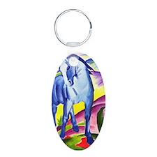 Blue Horse Keychains