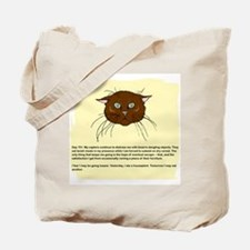 The Cat's Diary Tote Bag