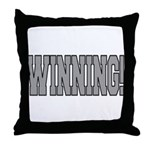 #WINNING! Throw Pillow