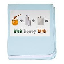 """Irish Honey Milk"" baby blanket"