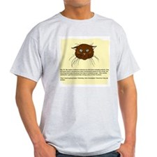The Cat's Diary Ash Grey T-Shirt