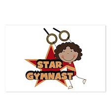 Star Gymnast Postcards (Package of 8)