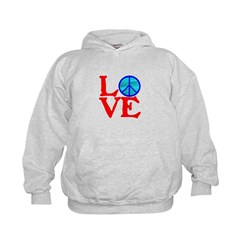 LOVE with PEACE SYMBOL Hoodie