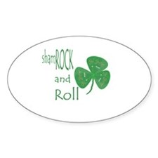 Guitar Pick shamROCK and Roll Decal