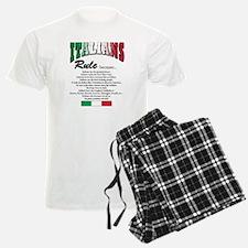 Italians Rules Pajamas