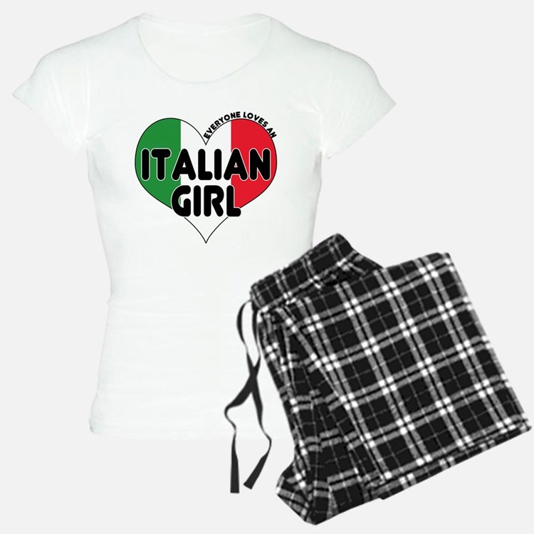 Everyone Loves an Italian Gir Pajamas
