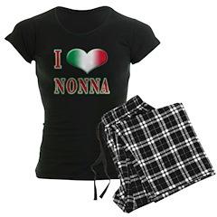 I Love Nonna Pajamas