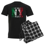 Long Island Italian Men's Dark Pajamas