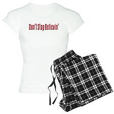 Don't stop believin Pajamas
