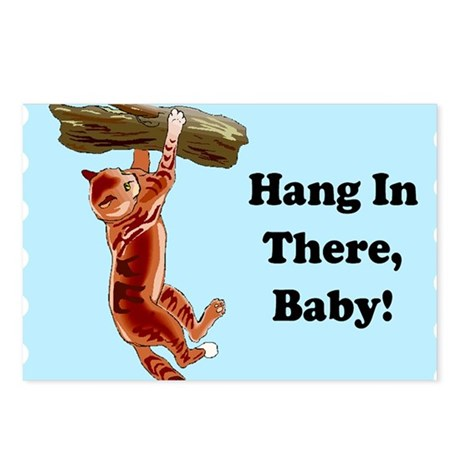 Hang In There Baby Postcards (Package of 8)