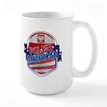 Polish American Large Mug