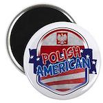 Polish American Magnet