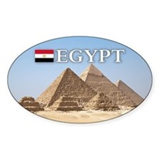 Giza Pyramids in Egypt Decal