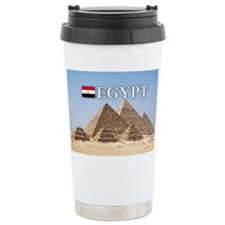 Giza Pyramids in Egypt Travel Mug