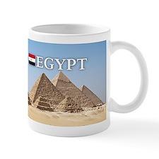 Giza Pyramids in Egypt Small Mug
