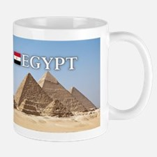 Giza Pyramids in Egypt Small Small Mug