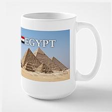 Giza Pyramids in Egypt Mug