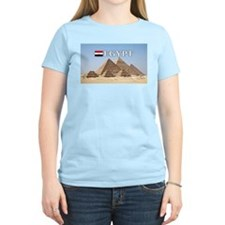 Giza Pyramids in Egypt T-Shirt