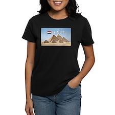 Giza Pyramids in Egypt Tee