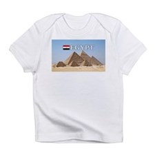 Giza Pyramids in Egypt Infant T-Shirt