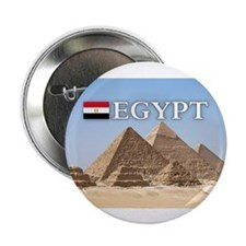 "Giza Pyramids in Egypt 2.25"" Button (10 pack)"