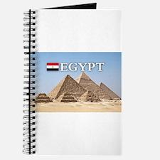 Giza Pyramids in Egypt Journal