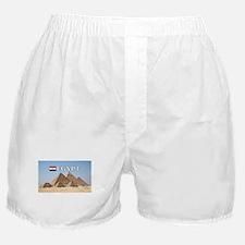 Giza Pyramids in Egypt Boxer Shorts